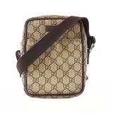 Auth Gucci Shoulder Bag 122754 Women's GG Supreme Shoulder Bag Beige