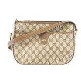 Auth Gucci Shoulder Bag 001 115 6106 Women's GG Supreme Beige