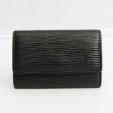 Louis Vuitton Epi 6 Key Holder M63812 Unisex Epi Leather Key Case Noir