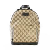 Auth Gucci Rucksack 429020  Women's GG Supreme Backpack Beige,Black