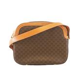 Auth Celine Macadam Shoulder Bag Women's PVC Brown