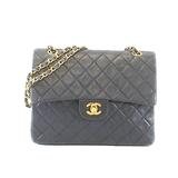 Auth Chanel Matelasse Paris Only W Flap W Chain Shoulder Bag Women's Leather