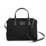 Kate Spade Small Roden Black Avenue WKRU3529 Women's Nylon,Leather Handbag,Shoulder Bag Black