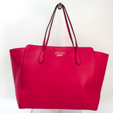 Gucci Gucci Swing 354397 Women's Leather Tote Bag Pink