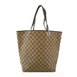 Auth  Gucci Tote Bag 002 1098 Women's GG Canvas Tote Bag Beige