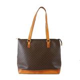 Auth Celine Macadam Tote Bag Women's PVC Shoulder Bag,Tote Bag Brown