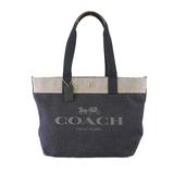 Auth Coach Tote bag F39904 Women's Denim Handbag,Shoulder Bag,Tote Bag Blue