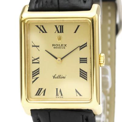 Rolex Cellini Mechanical Yellow Gold (18K) Men's Dress/Formal 4105