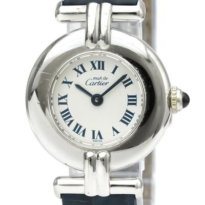 Cartier Colisee Quartz Silver 925 Women's Dress/Formal