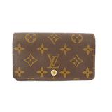 Auth Louis Vuitton Monogram Porte Monnaie Billets Tresor M61730 Women's Monogram Wallet (bi-fold) Monogram