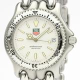 Tag Heuer Sel Quartz Stainless Steel Men's Dress Watch S99.006