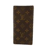 Auth Louis Vuitton Monogram Porto Valor Cult Credit M61823 Bill Wallet