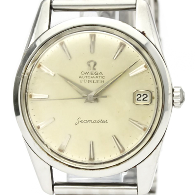 Omega Seamaster Automatic Stainless Steel Men's Dress Watch 14701
