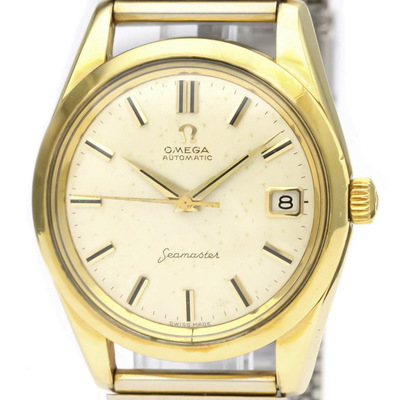 Omega Seamaster Automatic Gold Plated,Stainless Steel Men's Dress/Formal 14763