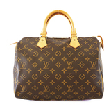 Auth Louis Vuitton Monogram Speedy 30 M41108 Women's Handbag
