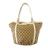 Auth Gucci GG Canvas Tote Bag 211982 Women's GG Canvas Tote Bag Beige