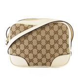 Auth Gucci GG Canvas Shoulder Bag 449413 Women's GG Canvas Shoulder Bag Beige
