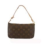 Auth Louis Vuitton Monogram Pochette Accessoir M51980 Women's Pouch