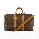 Auth Louis Vuitton Monogram Keepol Bandolier 50 M41416 Men,Women,Unisex Boston Bag