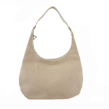 Auth Hermes Gao □ E Stamp Women's Toile H Shoulder Bag Natural