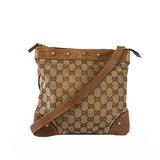 Auth Gucci GG Canvas 114273 Women's GG Canvas Shoulder Bag Beige