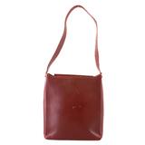 Auth Salvatore Ferragamo Shoulder Bag Women's Leather Shoulder Bag Bordeaux
