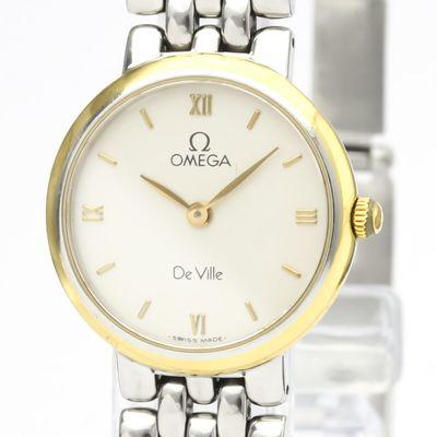 Omega De Ville Quartz Gold Plated,Stainless Steel Women's Dress/Formal 795.1111