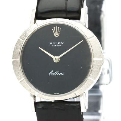 Rolex Cellini Mechanical White Gold (18K) Women's Dress/Formal