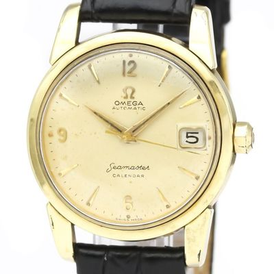 Omega Seamaster Automatic Gold Plated Men's Dress Watch 2849