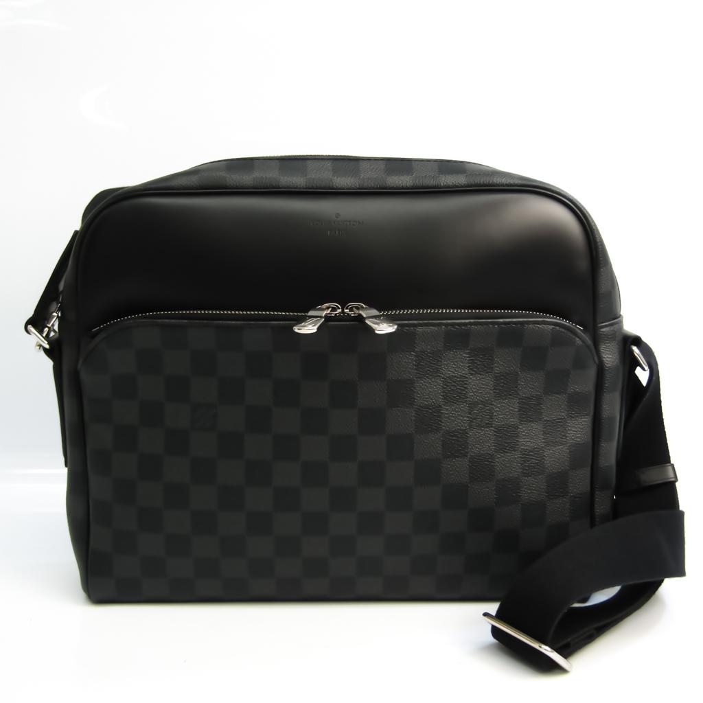 ルイ・ヴィトン(Louis Vuitton) ダミエ・グラフィット デイトンMM N41409 メンズ ショルダーバッグ ダミエ・グラフィット