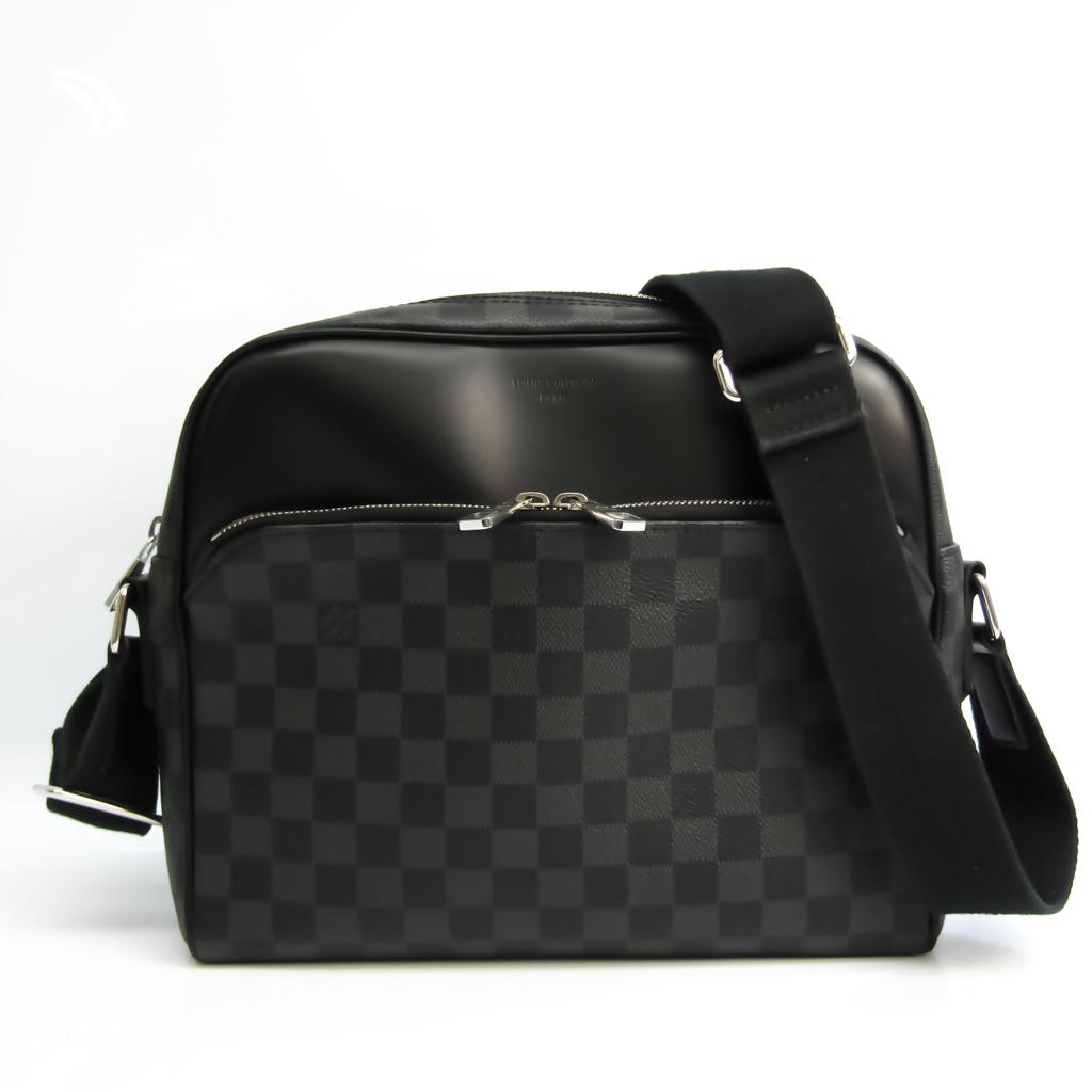 ルイ・ヴィトン(Louis Vuitton) ダミエ・グラフィット デイトンPM N41408 メンズ ショルダーバッグ ダミエ・グラフィット