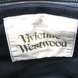 ヴィヴィアン・ウエストウッド(Vivienne Westwood) レディース レザー,キャンバス ハンドバッグ ベージュ,マルチカラー