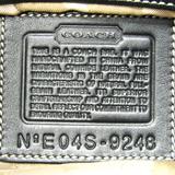 コーチ(Coach) ソーホーレザーフラップホーボー 9248 レディース レザー ショルダーバッグ ブラック