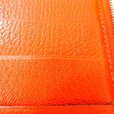 エルメス(Hermes) アジェンダ 手帳 オレンジ ジップ