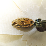 シャネル(Chanel) カメリア テキスタイル コサージュ ベージュ