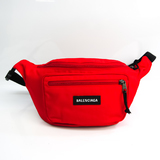 Balenciaga Explorer Nylon Belt Bag 482389 Unisex Nylon Canvas Sling Bag