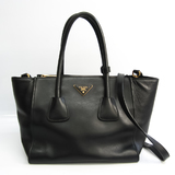 Prada 1BG625 Women's Leather Handbag,Shoulder Bag Nero