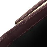 ポール・スミス(Paul Smith) PWD994 ユニセックス  カーフスキン 財布(三つ折り) ボルドー