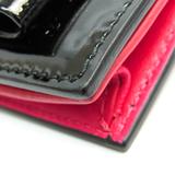 ミュウミュウ(Miu Miu) 5ARA64 レザー カードケース ブラック,ピンク