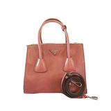 Auth Prada 2WAY Bag Women's Leather Handbag,Shoulder Bag Pink