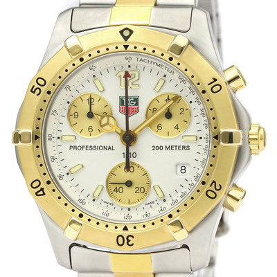Tag Heuer 2000 Series Quartz Gold Plated,Stainless Steel Men's Sports Watch CK1121