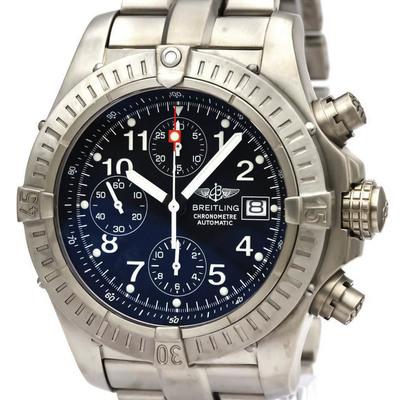 Breitling Avenger Automatic Titanium Men's Sports Watch E13360