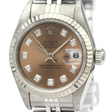 Rolex Datejust Automatic Stainless Steel,White Gold (18K) Women's Dress/Formal 79174