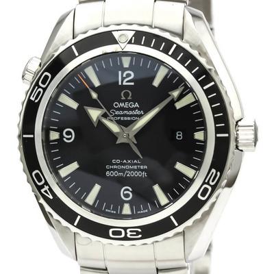 【OMEGA】オメガ シーマスター プラネットオーシャン コーアクシャル 600M ステンレススチール 自動巻き メンズ 時計 2200.50