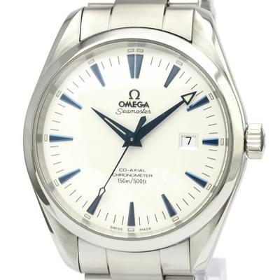 【OMEGA】オメガ シーマスター アクアテラ コーアクシャル ステンレススチール 自動巻き メンズ 時計 2502.33