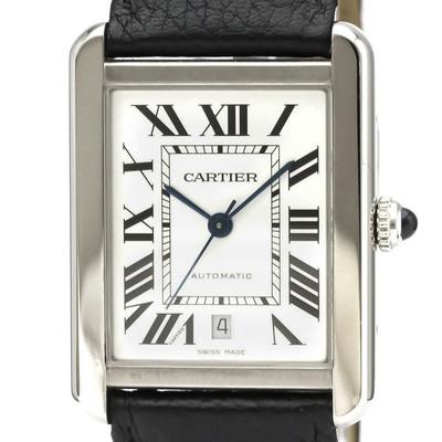 カルティエ(Cartier) タンクソロ 自動巻き ステンレススチール(SS) メンズ ドレス/フォーマル WSTA0029