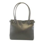 Auth Gucci Horsebit Tote Bag 101971 Women's Leather Black