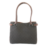 Auth Gucci Horsebit Tote Bag Tote Bag 101971 Women's Canvas Tote Bag Brown