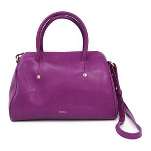 Furla Women's Leather Handbag Purple