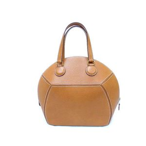 Hermes Women's Leather Handbag Gold